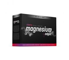 EDGAR MAGNÉZIUM 375mg+B6 CHERRY 10X25ml